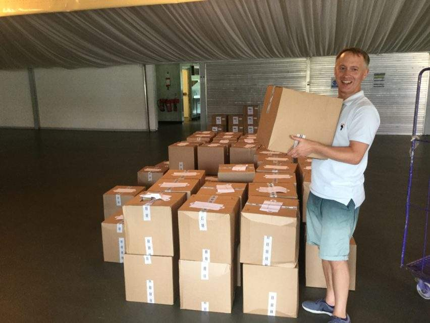 Filling the Gap - moving the boxes