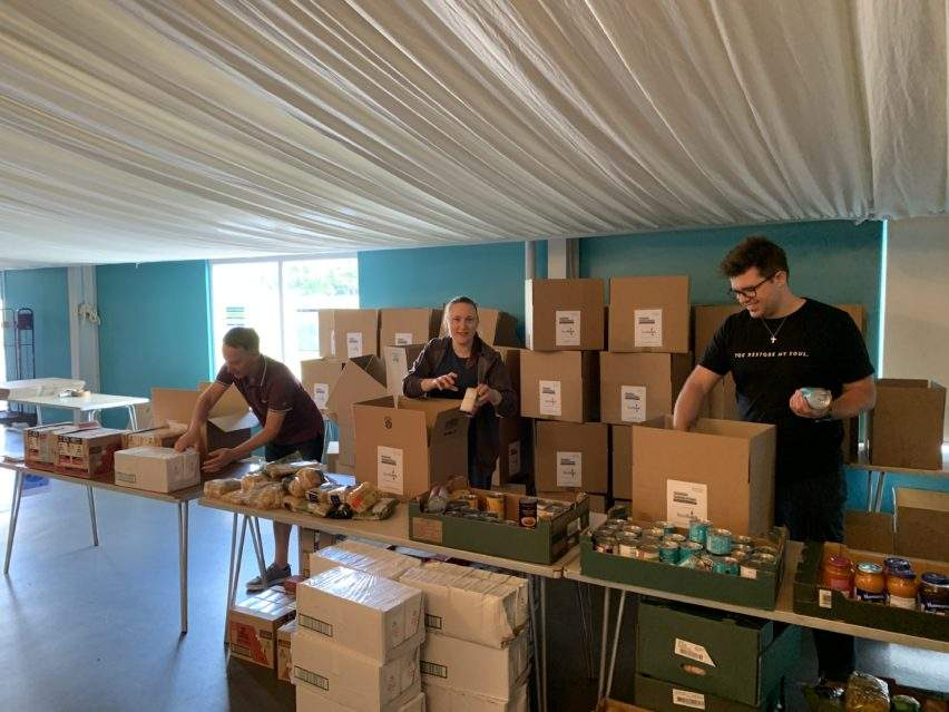 Filling the Gap - packing the boxes